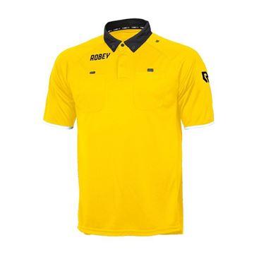 Afbeeldingen van Robey Referee Scheidsrechter Shirt - Geel