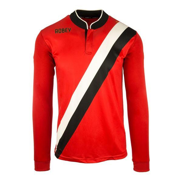 Afbeelding van Robey Anniversary Voetbalshirt - Rood (Lange Mouwen)