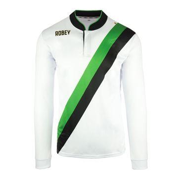 Afbeeldingen van Robey Anniversary Voetbalshirt - Wit (Lange Mouwen)