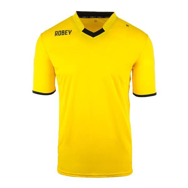 Afbeelding van Robey Hattrick Voetbalshirt - Geel
