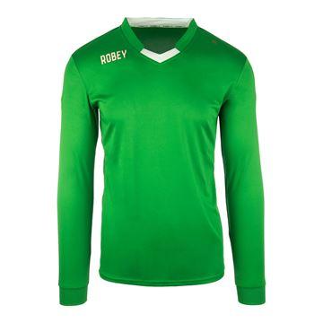 Afbeeldingen van Robey Hattrick Voetbalshirt - Groen (Lange Mouwen)