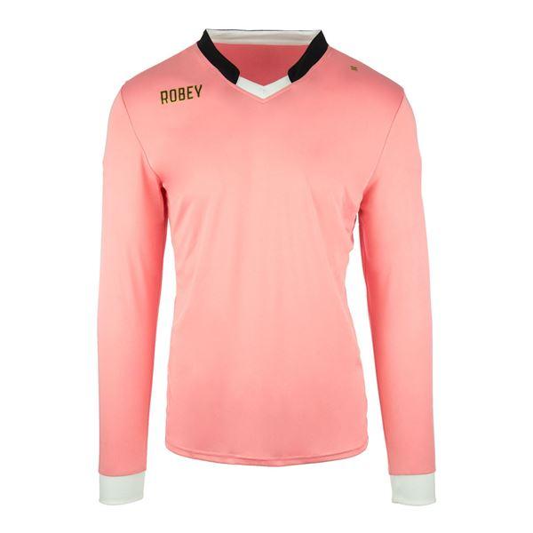 Afbeelding van Robey Hattrick Voetbalshirt - Roze (Lange Mouwen)