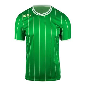Afbeeldingen van Robey Pinstripe Voetbalshirt - Groen