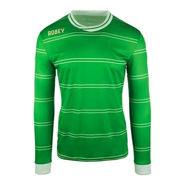 Afbeeldingen van Robey Sartorial Voetbalshirt - Groen (Lange Mouwen)