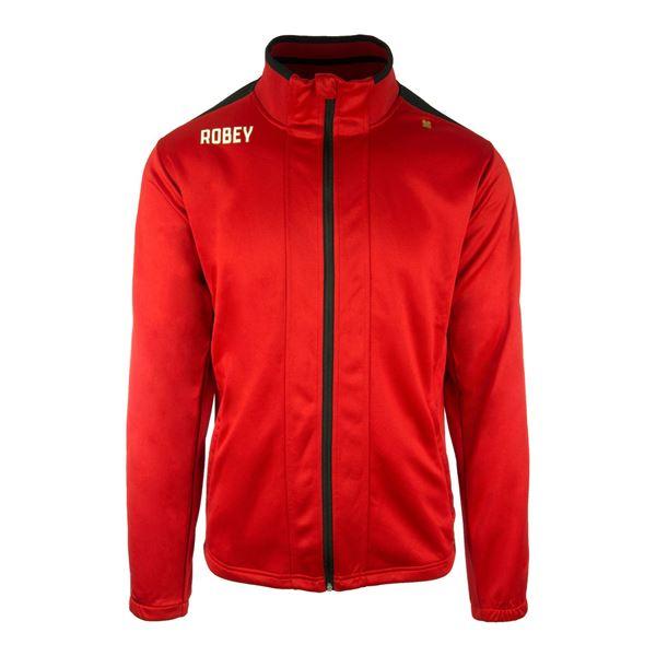 Afbeelding van Robey Performance Trainingsjack - Rood/Zwart