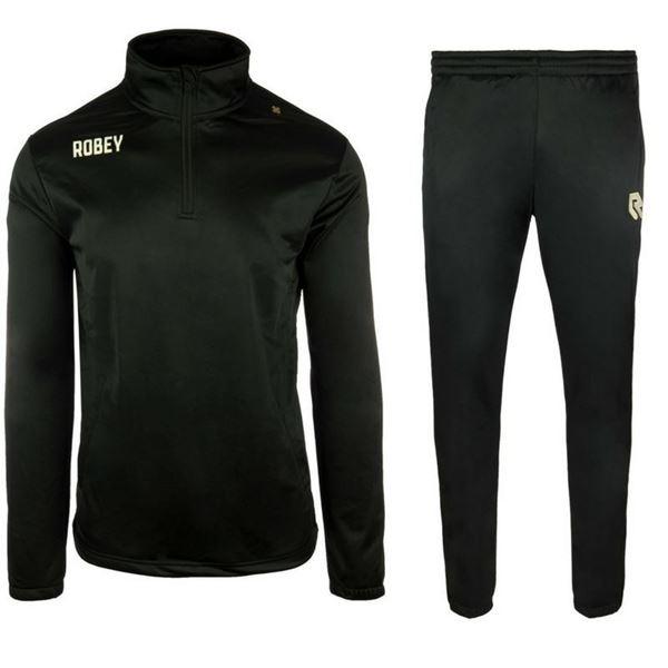 Afbeelding van Robey Premier Zip Trainingspak - Zwart