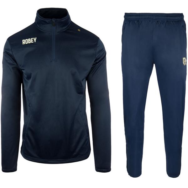 Afbeelding van Robey Premier Zip Trainingspak - Navy Blauw