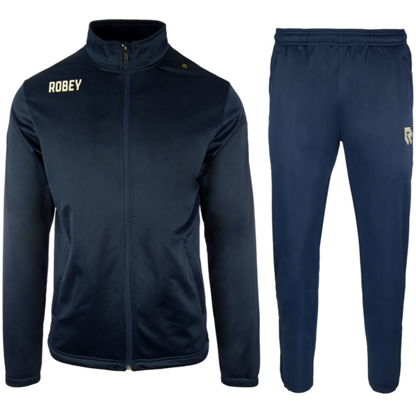 Afbeelding van Robey Premier Trainingspak - Navy Blauw