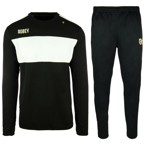 Afbeelding van Robey Sweat Performance Trainingspak - Zwart/Wit