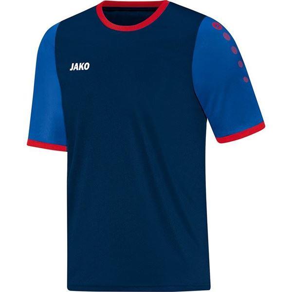 Afbeelding van JAKO LEEDS Shirt - Navy/Rood