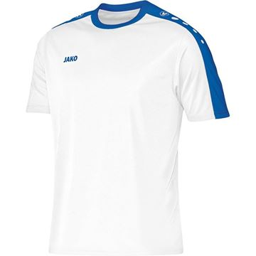 Afbeeldingen van JAKO Striker Shirt - Wit/Blauw