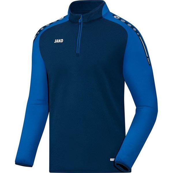 Afbeelding van JAKO Champ Zip Training Top - Blauw