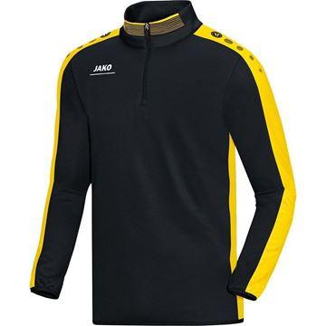 Afbeeldingen van JAKO Striker Zip Training Top - Zwart - Geel