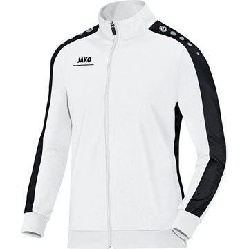 Afbeeldingen van JAKO Striker Polyester Vest - Wit - Zwart