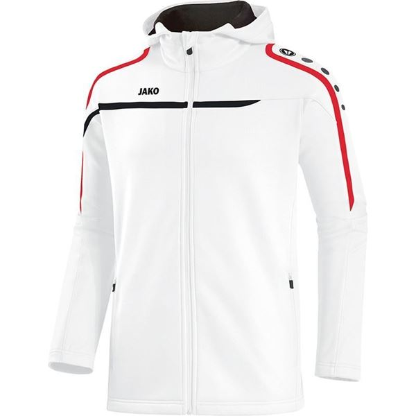 Afbeelding van JAKO Performance Hooded Trainingsjack - Wit