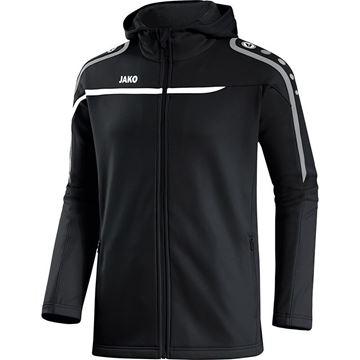 Afbeeldingen van JAKO Performance Hooded Trainingsjack - Zwart