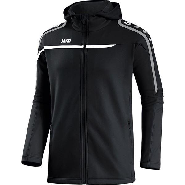 Afbeelding van JAKO Performance Hooded Trainingsjack - Zwart