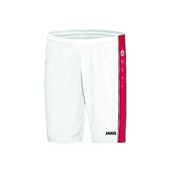 Afbeeldingen van JAKO Center Basketbal short - Wit/Rood