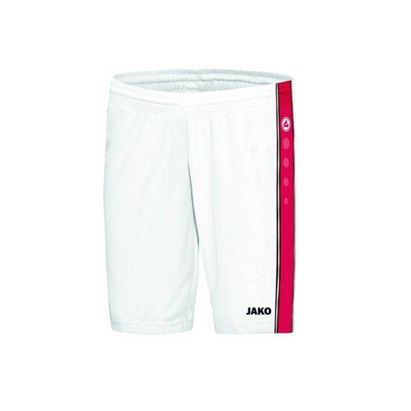 Afbeelding van JAKO Center Basketbal short - Wit/Rood