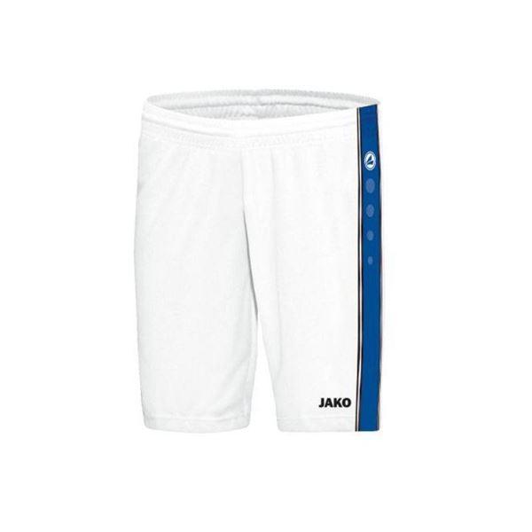 Afbeelding van JAKO Center Basketbal short - Wit/Blauw