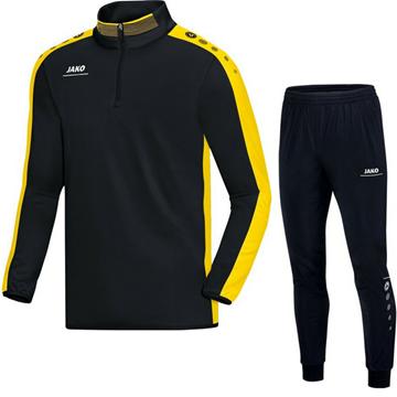 Afbeeldingen van JAKO Striker Trainingspak Zip Top - Zwart - Geel