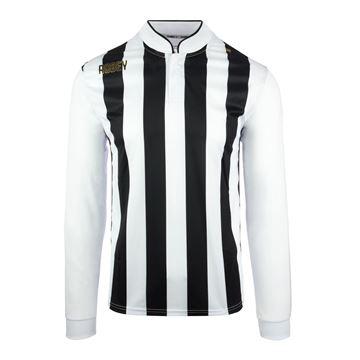 Afbeeldingen van Robey Winner Voetbalshirt - Zwart/ Wit (Lange Mouwen) - Kinderen