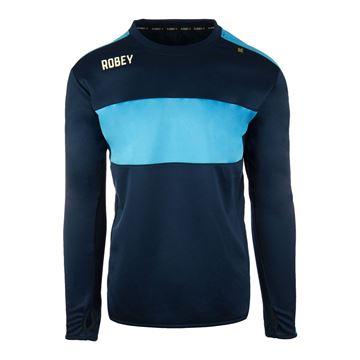 Afbeeldingen van Robey Performance Sweater - Navy Blauw/Lichtblauw - Kinderen