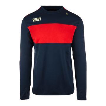 Afbeeldingen van Robey Performance Sweater - Navy Blauw/Rood - Kinderen