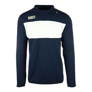Afbeeldingen van Robey Performance Sweater - Navy Blauw/Wit - Kinderen