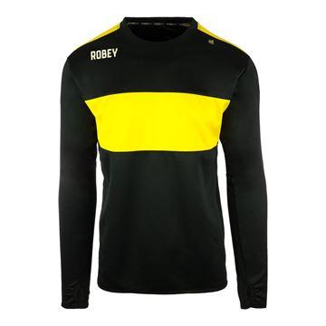 Afbeeldingen van Robey Performance Sweater - Zwart/Geel - Kinderen