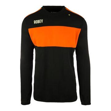 Afbeeldingen van Robey Performance Sweater - Zwart/Oranje - Kinderen