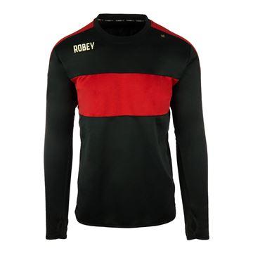 Afbeeldingen van Robey Performance Sweater - Zwart/Rood - Kinderen
