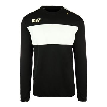 Afbeeldingen van Robey Performance Sweater - Zwart/Wit - Kinderen
