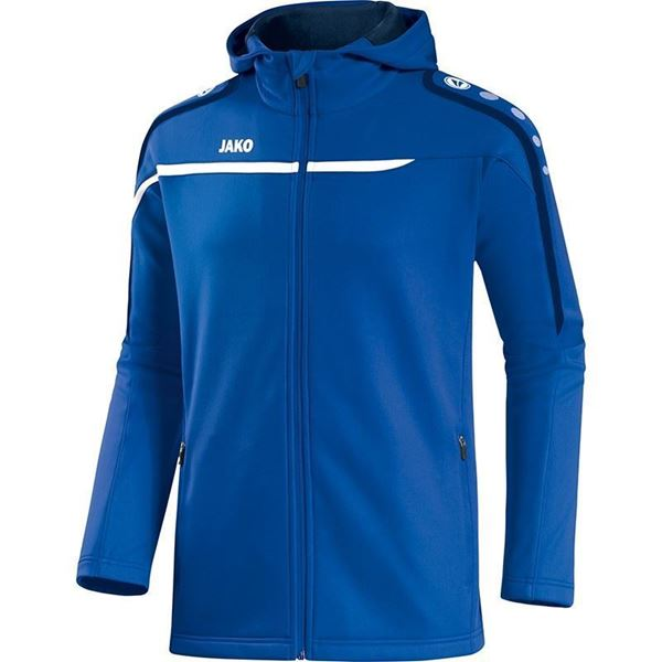 Afbeelding van JAKO Performance Hooded Trainingsjack - Blauw - Kinderen