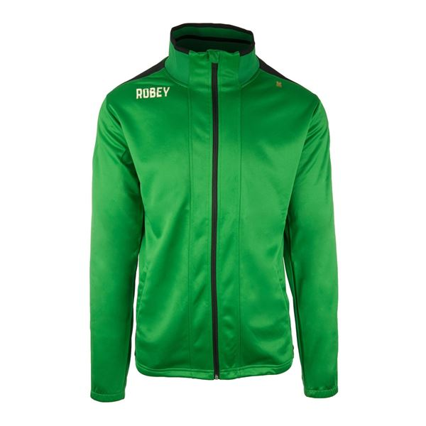 Afbeelding van Robey Performance Trainingsjack - Groen/Zwart - Kinderen