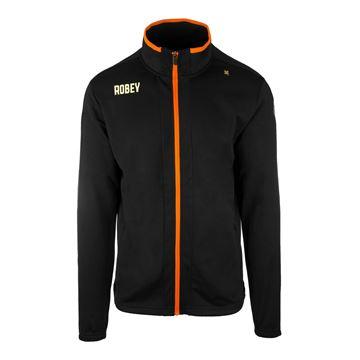 Afbeeldingen van Robey Performance Trainingsjack - Zwart/Oranje - Kinderen