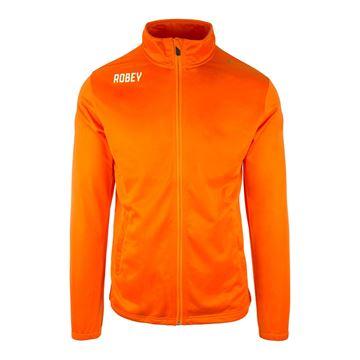 Afbeeldingen van Robey Premier Trainingsjack - Oranje - Kinderen
