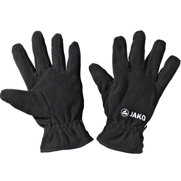 Afbeelding van JAKO Fleece handschoenen - Zwart