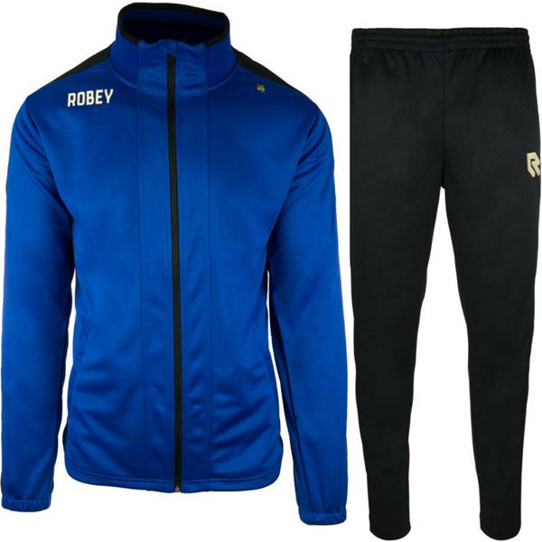 Afbeelding van Robey Performance  Trainingspak - Blauw - Zwart