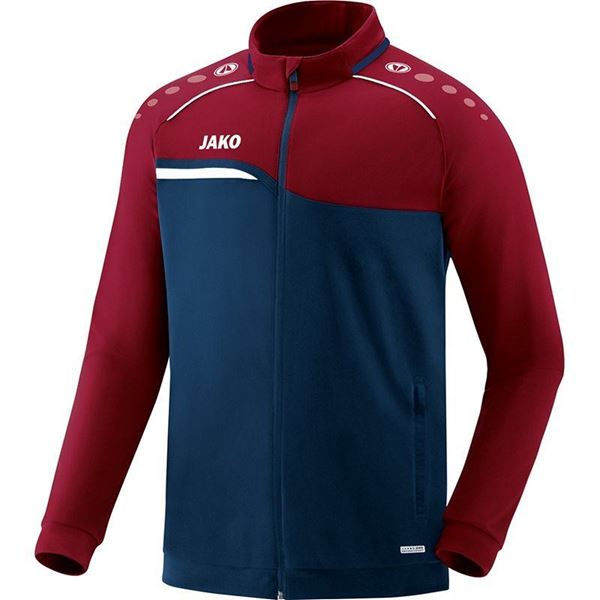 Afbeelding van JAKO Competition Polyestervest - Navy - Blauw - Rood
