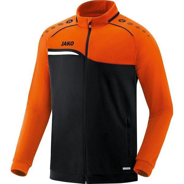 Afbeelding van JAKO Competition Polyestervest - Zwart - Oranje