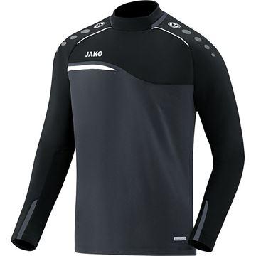 Afbeeldingen van JAKO Competition Sweater - Antraciet - Zwart