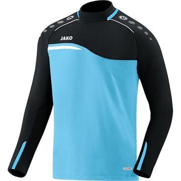 Afbeeldingen van JAKO Competition Sweater - Lichtblauw - Zwart