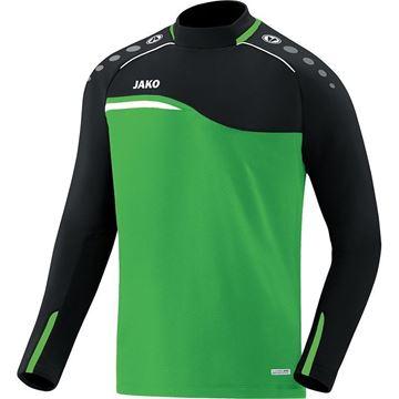 Afbeeldingen van JAKO Competition Sweater - Groen - Zwart - Kinderen