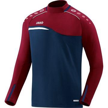 Afbeeldingen van JAKO Competition Sweater - Navy - Blauw - Rood - Kinderen
