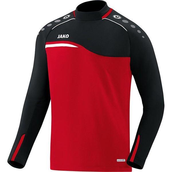 Afbeelding van JAKO Competition Sweater - Rood - Zwart - Kinderen