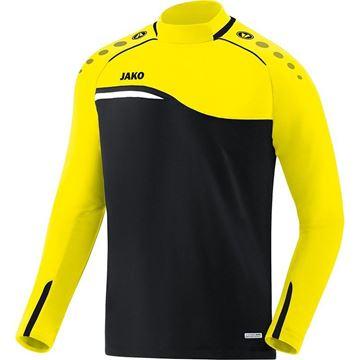 Afbeeldingen van JAKO Competition Sweater - Zwart - Geel - Kinderen