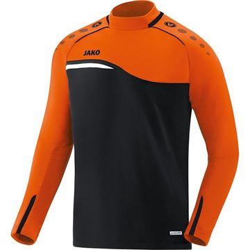 Afbeeldingen van JAKO Competition Sweater - Zwart - Oranje - Kinderen