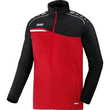 Afbeeldingen van JAKO Competition Regenjas - Rood - Zwart