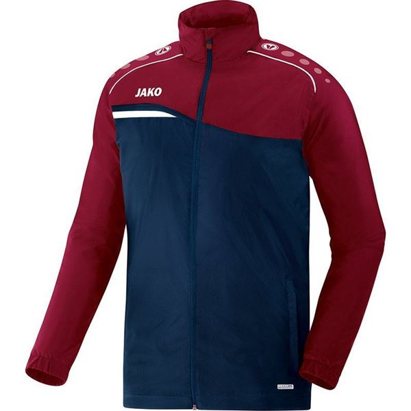 Afbeelding van JAKO Competition Regenjas - Navy - Blauw - Rood